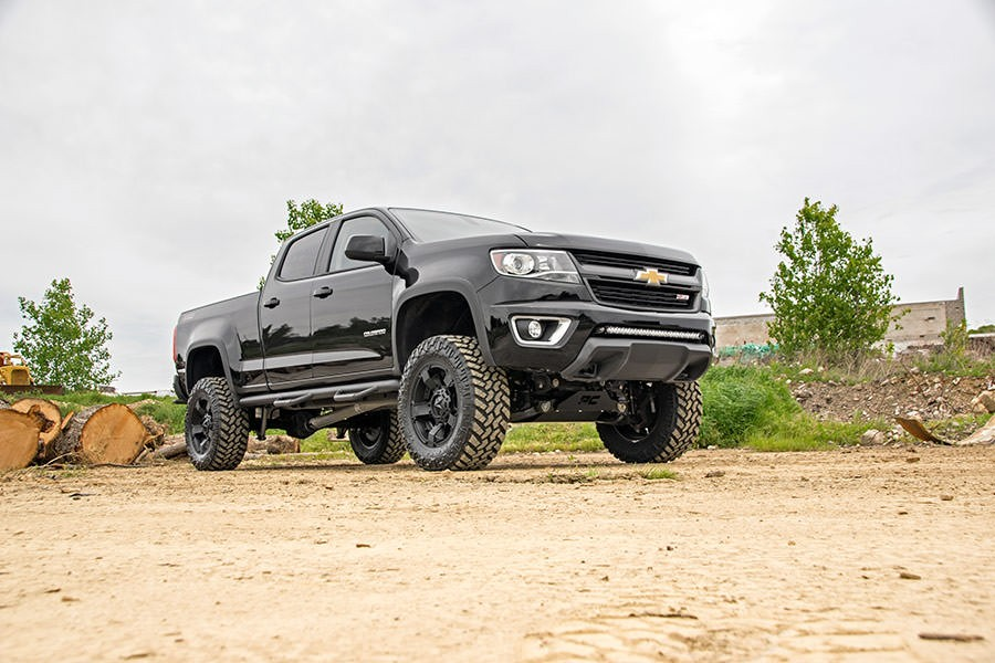 rough country offers six inch lift kit for chevy colorado canyon news articles index. Black Bedroom Furniture Sets. Home Design Ideas