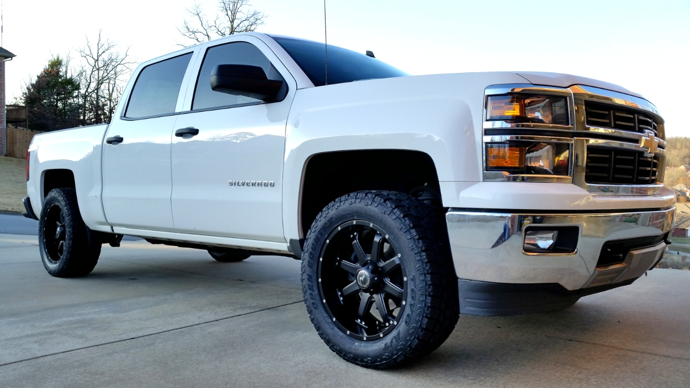 Offset And Tires 2014 2015 2016 2017 Chevrolet