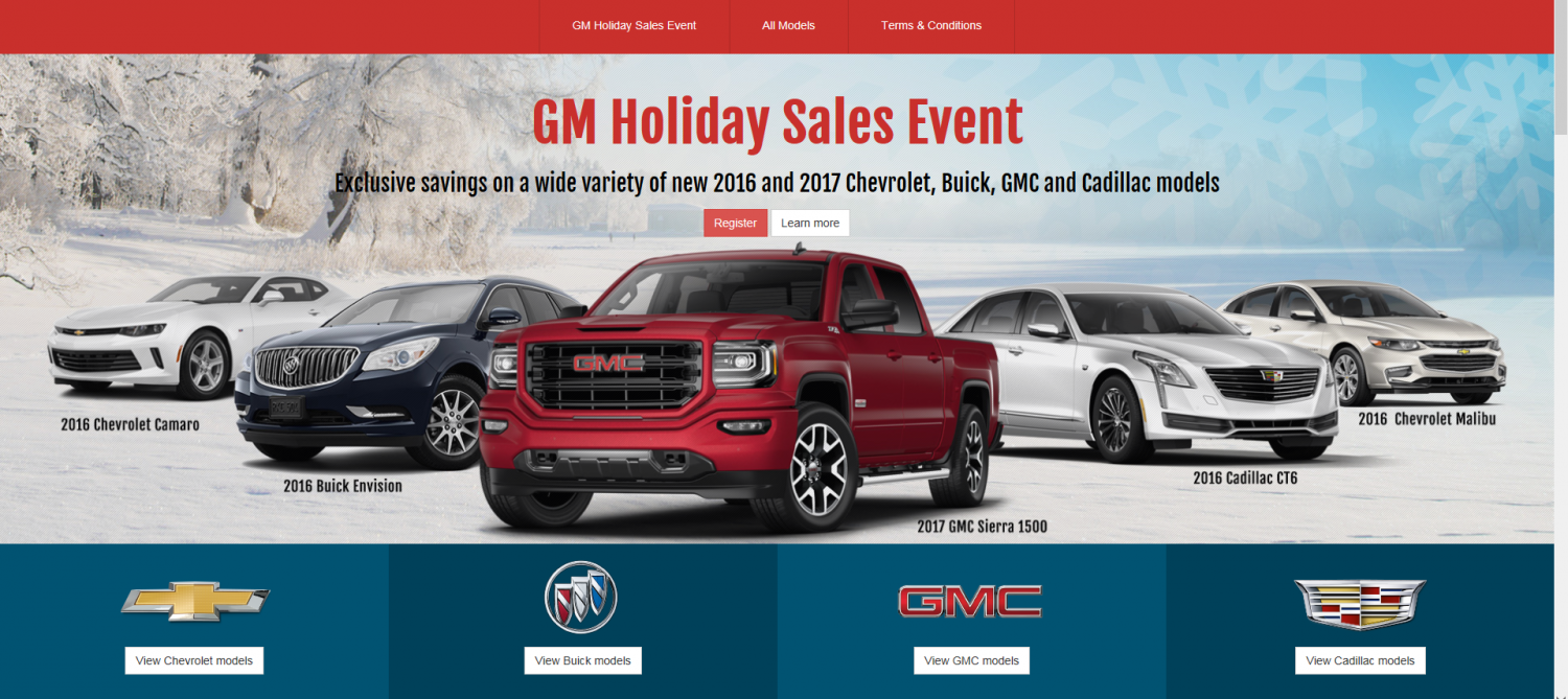 Costco Auto Program >> Costco Auto Program Partners With Gm For Holiday Sales Event The