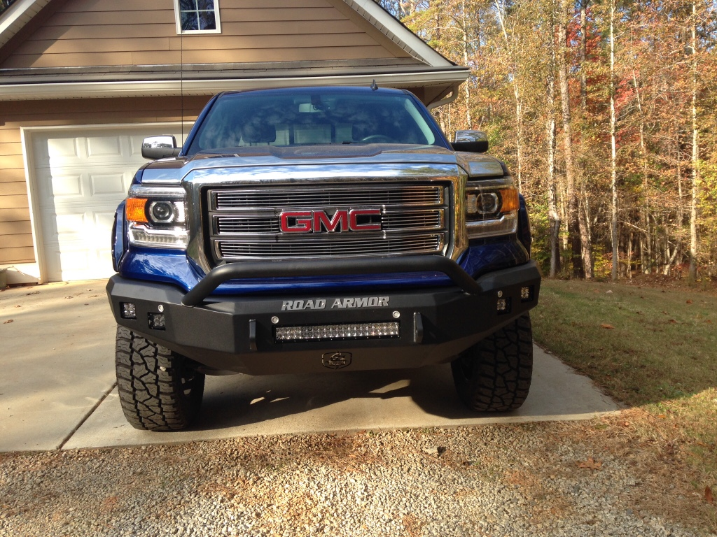 Sierra Grill Guard/ Replacement Bumper - 2014-2018 ...