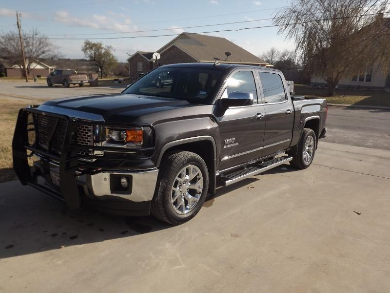 Gmc With Grille Guard 2014 2018 Chevy Silverado Gmc Sierra