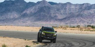 Watch Chevy's AEV Colorado ZR2 Bison Tear Up The Track On NBC Sports