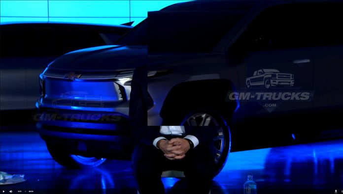 Here's Your First Look At Chevy's Electric Pickup