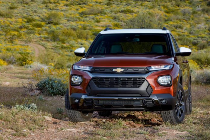 2022 Chevy Trailblazer Updated With New Colors & Packages