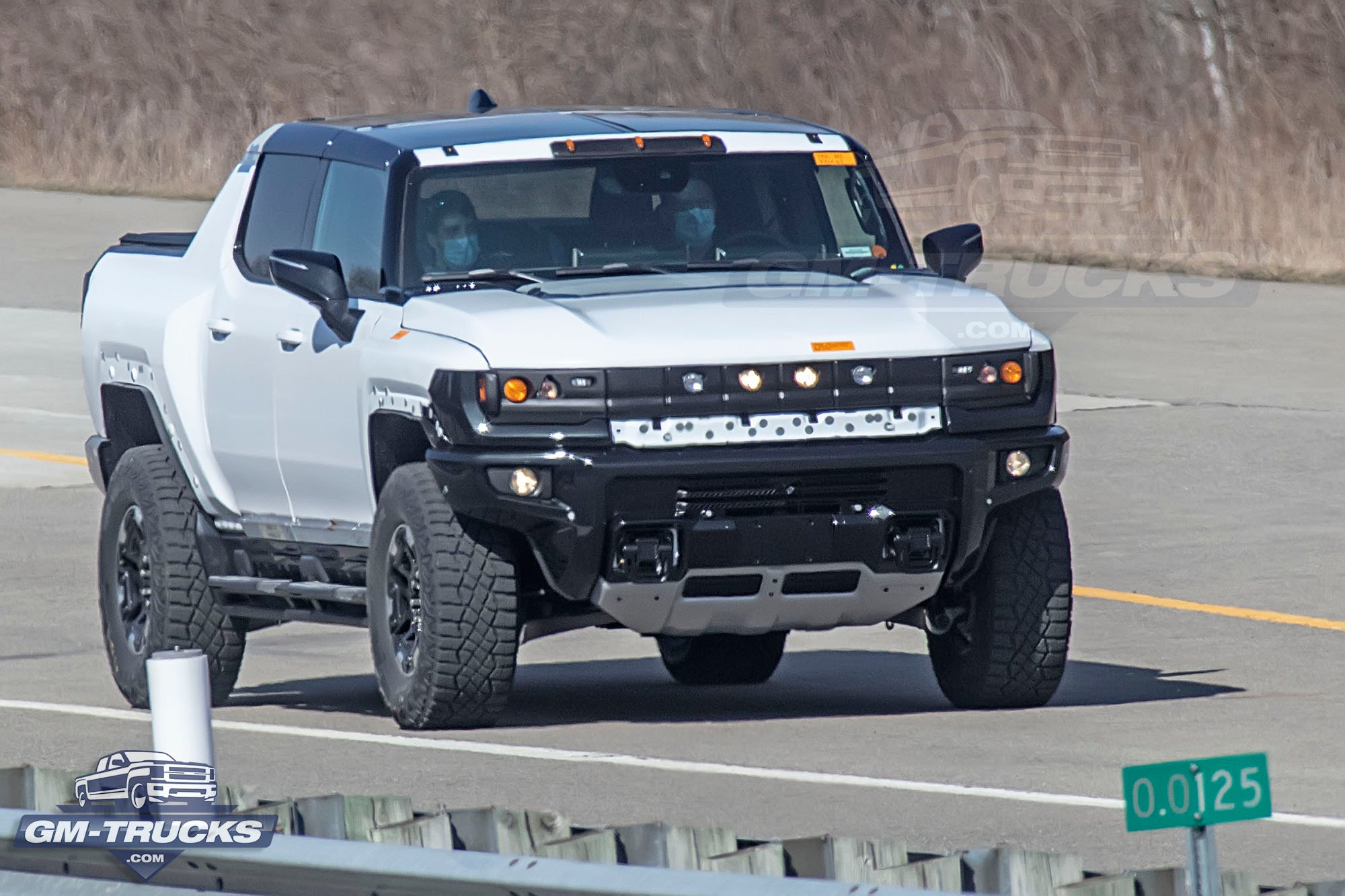 HUMMER EV Truck Continues Testing In & Around GM Milford Proving Grounds