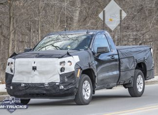 [Spy Shots] Updated 2022 Chevy Silverado Headlights