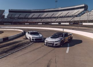 NASCAR & Chevrolet Debut Next Gen Camaro ZL1 Race Car