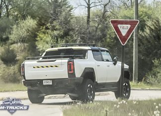 HUMMER EV With Production Ready Lights & Accessories Spotted